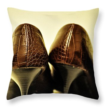 The Pair Throw Pillow by Bill Cannon