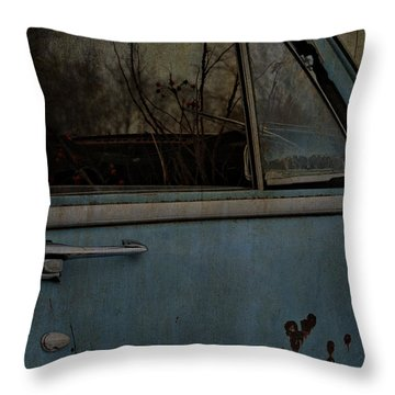 The Passenger  Throw Pillow by Jerry Cordeiro