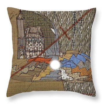 The Pearl An Irritant In The Church Throw Pillow by Deborah Montana