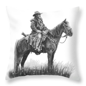 the Quest Throw Pillow by Marianne NANA Betts