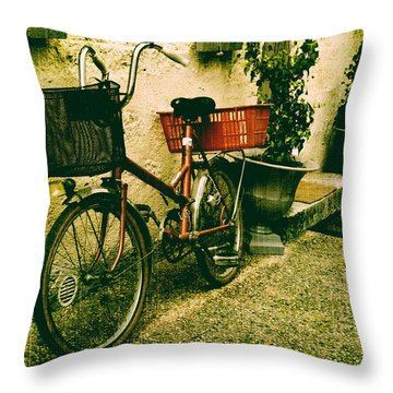 The Quiet Life Throw Pillow by Georgia Fowler