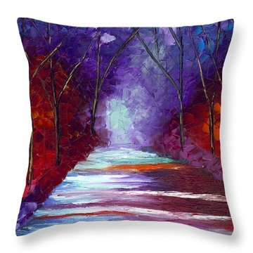 The Watchers Throw Pillow by Jessilyn Park