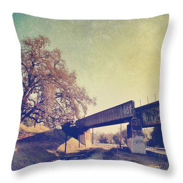 The Way I Felt That Day Throw Pillow by Laurie Search