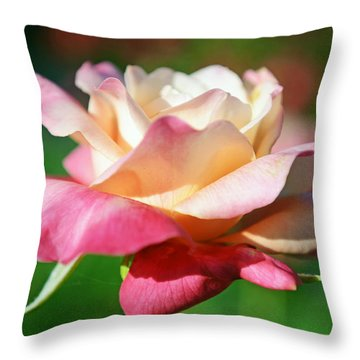 Thorns Have Roses Throw Pillow by Melanie Moraga