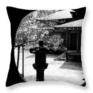 Through The Window Of Time Throw Pillow by Sebastian Musial