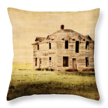 Time Forgotten Throw Pillow by Julie Hamilton