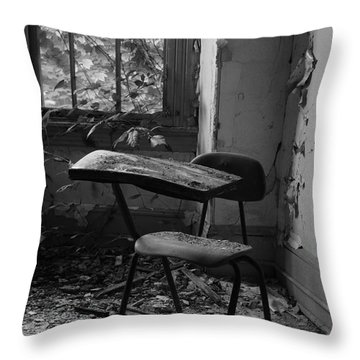 Time-out Throw Pillow by Luke Moore