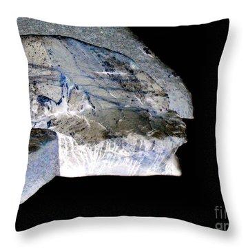 Time Travelers Throw Pillow by Pauli Hyvonen