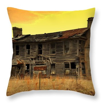 Times Past Throw Pillow by Marty Koch