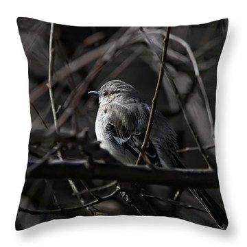 To Kill A Mockingbird Throw Pillow by Lois Bryan