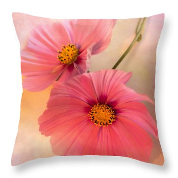 Together Throw Pillow by Jan Bickerton