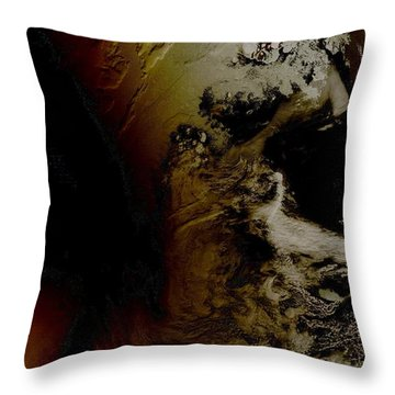 Total Solar Eclipse Throw Pillow by Nasa
