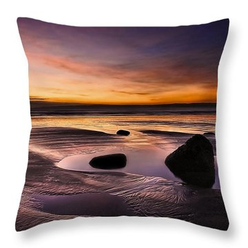 Tranquil Morning Throw Pillow by Svetlana Sewell