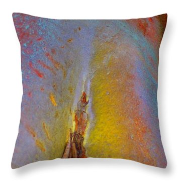 Throw Pillow featuring the digital art Transform by Richard Laeton