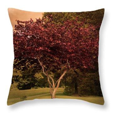 Tree Of Love Throw Pillow by Jai Johnson