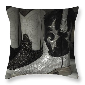 Twinkletoes Throw Pillow by Anna Villarreal Garbis