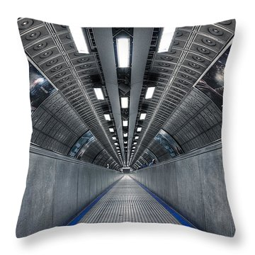 Underground 04 Throw Pillow by Svetlana Sewell