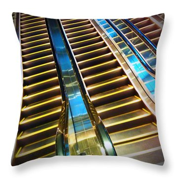 Up And Down Throw Pillow by Eena Bo