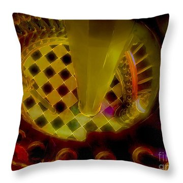 Up The Down Staircase Throw Pillow by Judi Bagwell