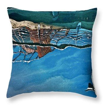 Upside-down World Series 5 Throw Pillow by Heiko Koehrer-Wagner