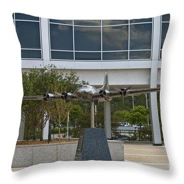 Usafa Air Model 3 Throw Pillow by Tim Mulina