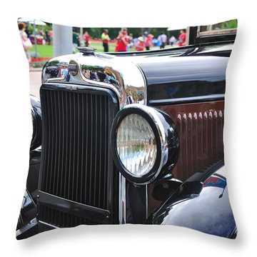 Vintage Dodge - Circa 1930's Throw Pillow by Kaye Menner