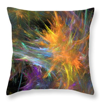 Vivaz Throw Pillow by RochVanh