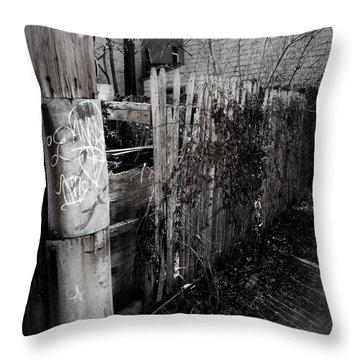 Wanderers Throw Pillow by Jessica Brawley