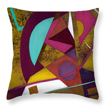 Wassail Throw Pillow by Terry James