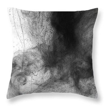 Water Dust Throw Pillow by Sumit Mehndiratta