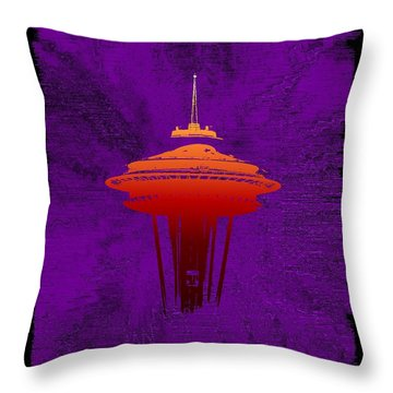Weathering The Storm Throw Pillow by Tim Allen