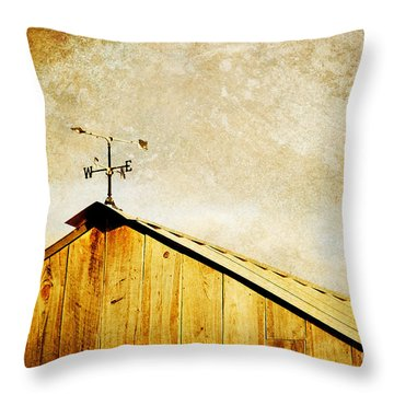 Weathervane Throw Pillow by Joan McCool