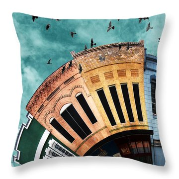Wee Bryan Close-up Throw Pillow by Nikki Marie Smith