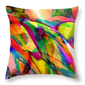 Welcome To My World Dissection 1 Throw Pillow by Angelina Vick