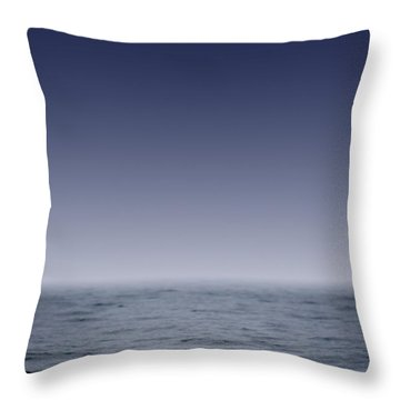 Whales Fluke Throw Pillow by Darren Greenwood
