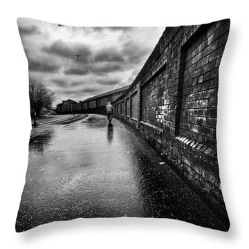 What Do I Know Throw Pillow by John Farnan