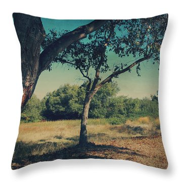 When I Was Your Girl Throw Pillow by Laurie Search