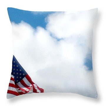 When Shall Truth Set Us Free? Throw Pillow by Rory Sagner
