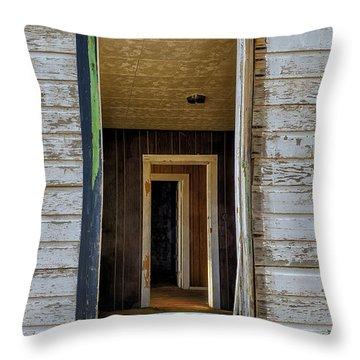 When Times Were Good Throw Pillow by Sandra Bronstein