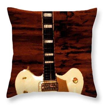 White Falcon Throw Pillow by Lourry Legarde