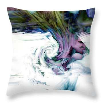 Why Throw Pillow by Linda Sannuti