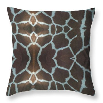 Wild Ones Throw Pillow by Jen Sparks