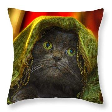 Wonder Throw Pillow by Joann Vitali