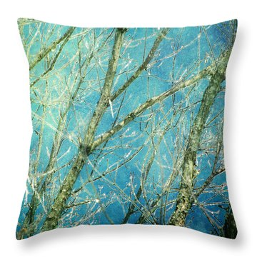 Wonderland Throw Pillow by Amy Tyler