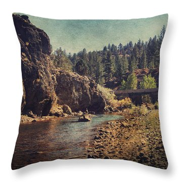 Words Left Unspoken Throw Pillow by Laurie Search