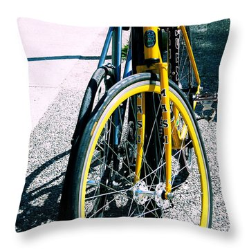 Worldly Cycle Throw Pillow by JAMART Photography