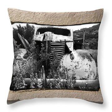 Wreck 1 Throw Pillow by Mauro Celotti