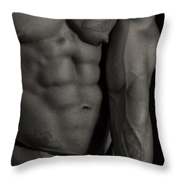 Y'all Throw Pillow by Thomas Mitchell