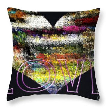 Your Heart Is My Pinata Throw Pillow by Gwyn Newcombe