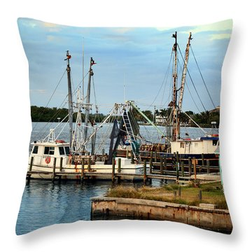 Matlacha Florida Throw Pillow by Joseph G Holland